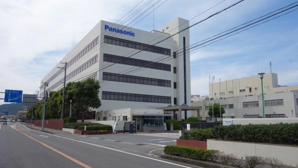 もともとSANYO電気の工場だった場所がPanasonicに変わっていました。