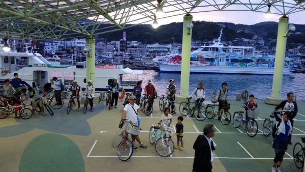 やっぱり自転車の数が凄い!