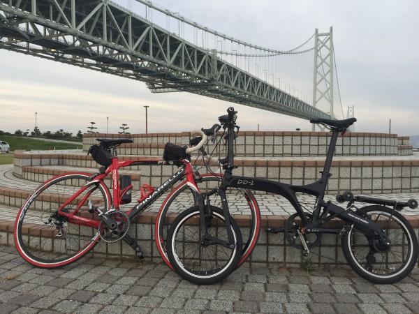 小径輪自転車とロードバイクのサイクリングは成立するのでしょうか?