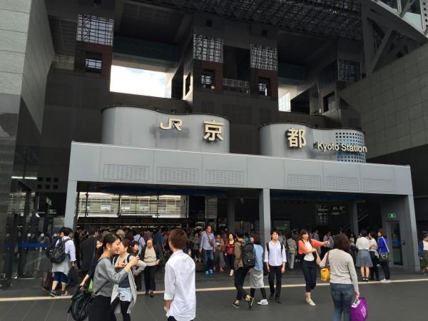 世界中から観光客が集まります@JR京都駅