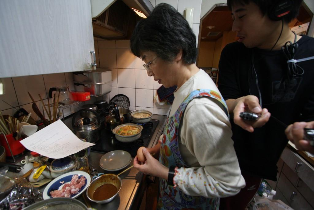JOBBB第3回味噌煮込みうどん収録の様子