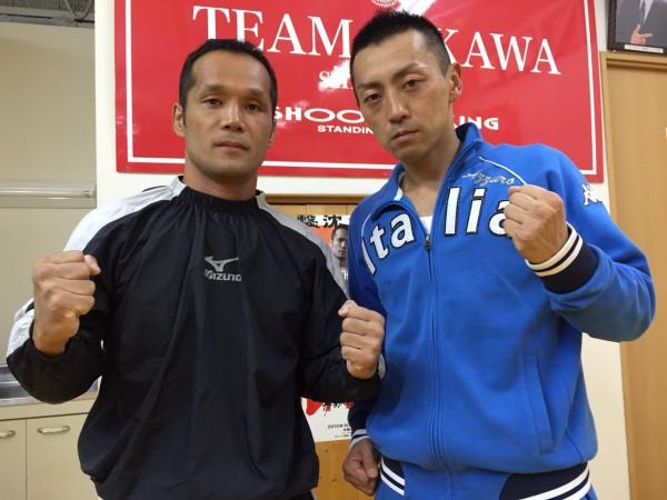 10月3日に引退される及川政浩さん(左)と安東辰也さん(右) photo by ARIKIN