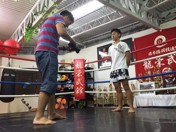 平山滉大さん。10月3日にプロデビューされます! photo by ARIKIN