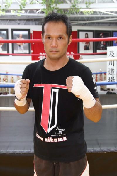 THE LAST BOMBで引退される及川政浩さん。タイからの刺客マキ・ピンサヤームに挑みます! photo by ARIKIN