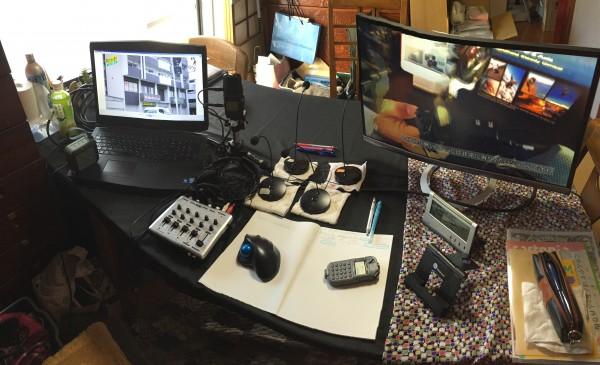 JOBBBのスタジオの様子です。