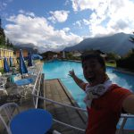 【スイス・Day14】Wengenのプール【アルプスの絶景】
