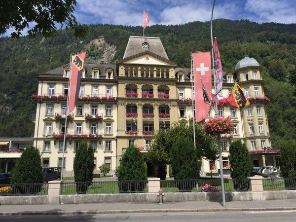 2014年には皇太子さんも宿泊したホテル【Lindner Grand Hotel Beau Rivage】