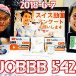 ラジオ542 人はスイスの何を知りたいのかアンケートしてみた/料理レシピ【茶だんご】/YouTubeSpace東京に行ってきた/タブ鉄 北大阪の隠れた動脈 阪急千里線を歩く ①